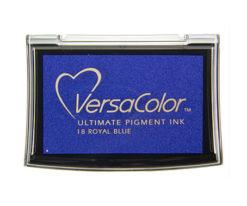 Stempelkissen VersaColor groß Royal Blue