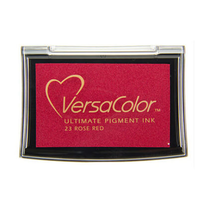 Stempelkissen VersaColor groß Rose Red