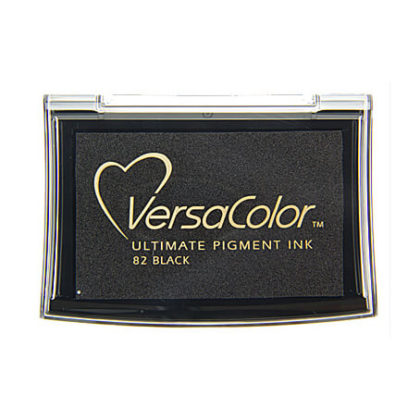 Stempelkissen VersaColor groß Black