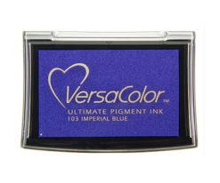 Stempelkissen VersaColor groß Imperial Blue