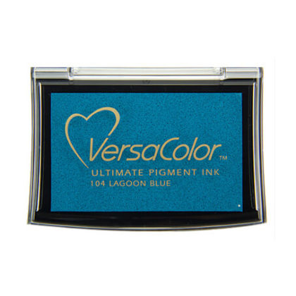 Stempelkissen VersaColor groß Lagoon Blue