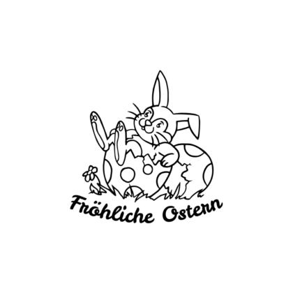 Motivstempel Ostern Fröhliche Ostern 2