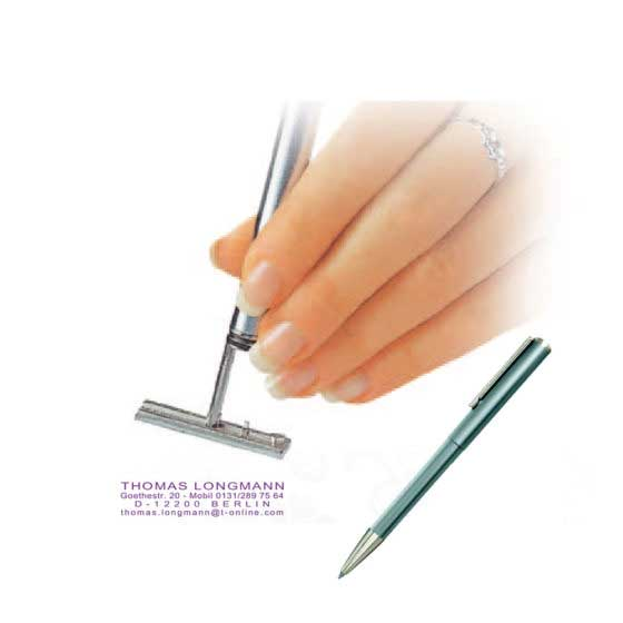 Taschenstempel & Kugelschreiberstempel
