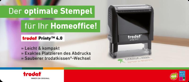 Stempel Kompetent Bearbeitet Trodat Printy Rot 4911 Büro Stempel Kissen Violett Papier, Büro- & Schreibwaren