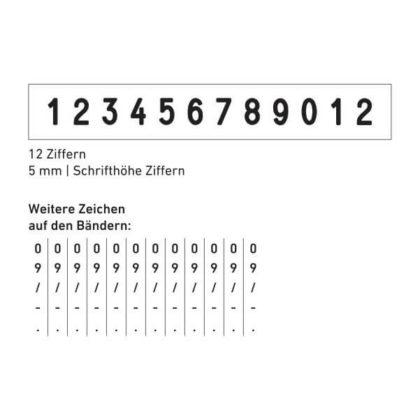 55512 Abdruck Zeichen
