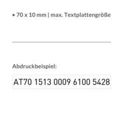 Abdruckbeispiel Trodat printy 4916