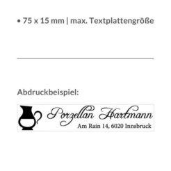 Abdruckbeispiel Trodat printy 4918