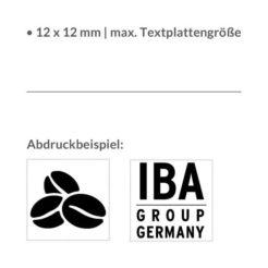 3 Zeilen inkl. Logo Stempel Trodat Printy 4921