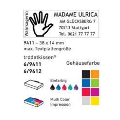 Beispiel 9411 Farben und Kissen