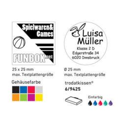 Beispiel 9425 Farben und Kissen