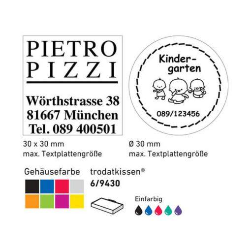 Beispiel 9430 Farben und Kissen
