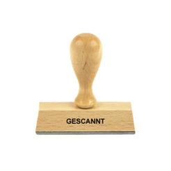 Holzstempel Lagertext GESCANNT