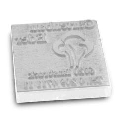 Stempeltextplatte für Colop Q