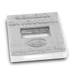 Stempeltextplatte für Colop Q mit Datum
