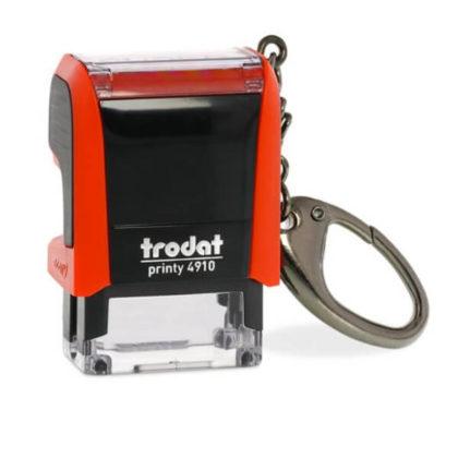 Trodat printy 4910 mit Schlüsselanhänger