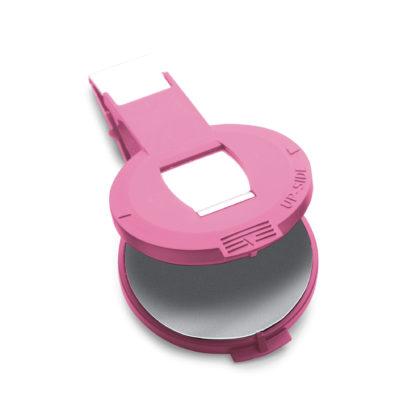 Einsatz für Trodat Prägestempel Prägepresse Prägezange 41 mm pink