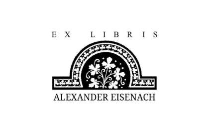Ex Libris Holzstempel Ornament 3