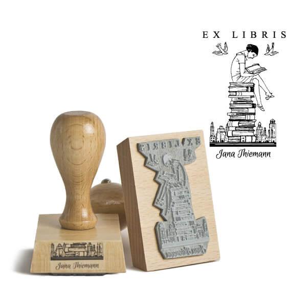 Exlibris Holztempel