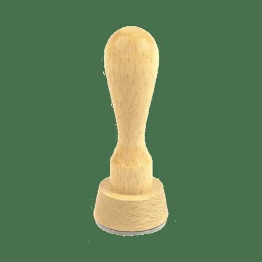Runde Holzstempel