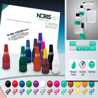 Noris Stempelfarbe 110S f. Kissen 25 ml