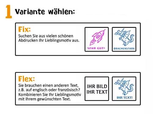 Trodat Edy Fix & Flex Anleitung