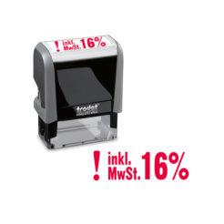 Trodat Office Printy 4912 Lagertextstempel ! MwSt. 16%