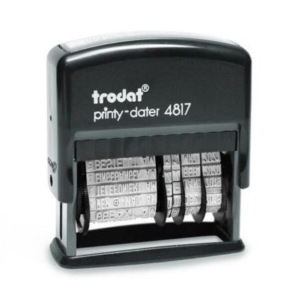 Trodat Printy 4817 Dater Wortbandstempel