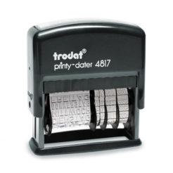 Trodat Printy 4817 B Dater Wortbandstempel